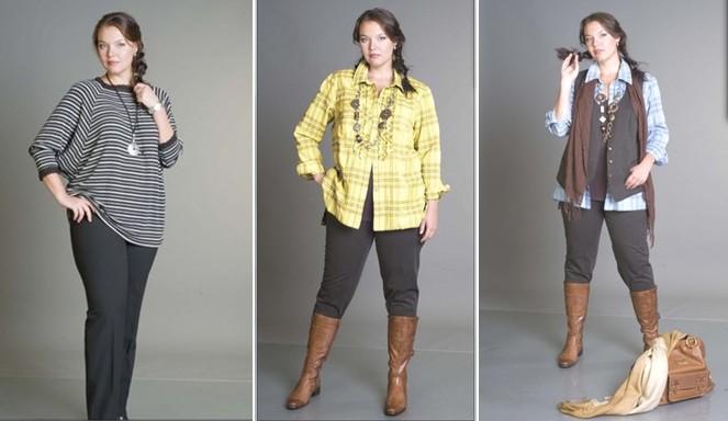 Одежда для полных леди. Как выглядеть великолепно