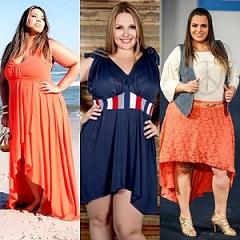 Пышки в  тренде! Мода для полных женщин 2014