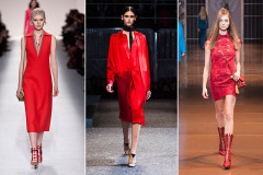 Тренд сезона: красный цвет