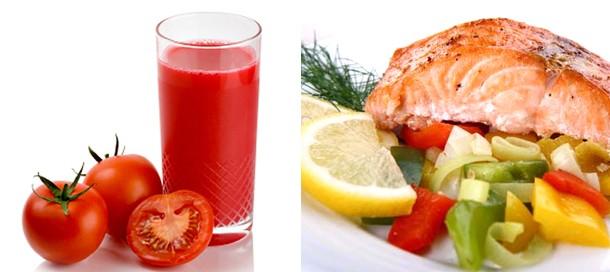 Рецепты для похудения. Диета на томатном соке