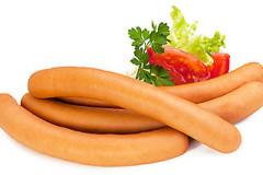 Сосиски и диета: Вред сосисок, калорийность сосисок