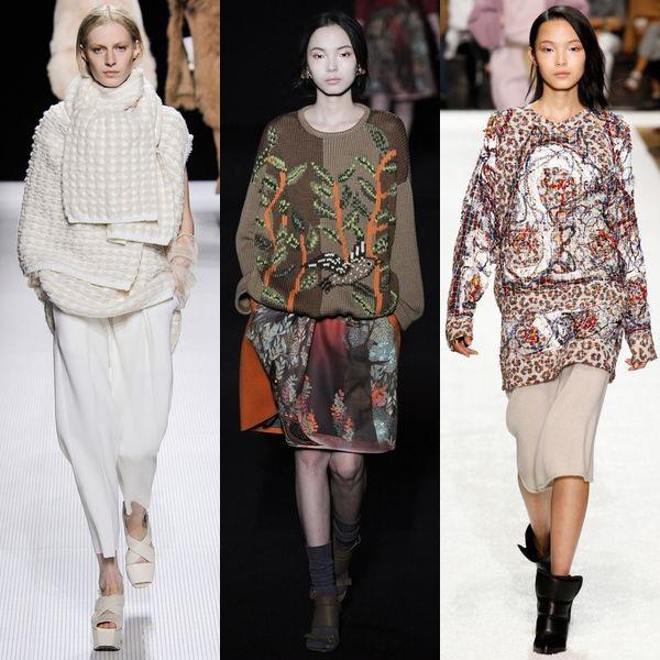 Мода осень-зима 2014-2015. Тепло трикотажа