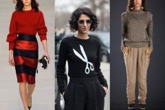 Модные свитера сезона зима 2014/2015