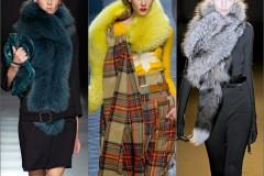 Модные аксессуары 2015: шарфы, снуды, платки