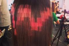 Новый тренд — «пиксельное» окрашивание: тетрис на волосах