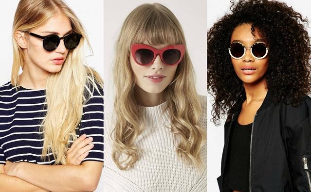 Тренды 2015: солнцезащитные очки по форме лица