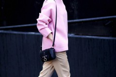 Стритстайл: трендовый цвет весны — розовый
