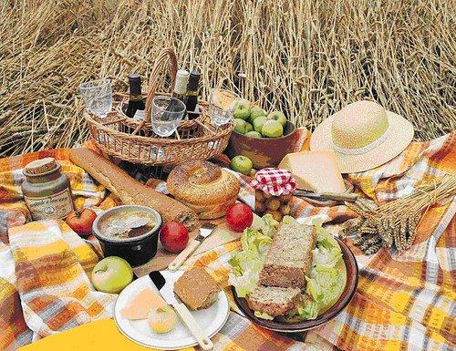 Лучшие закуски для пикника