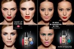 Андреа Пежич — новое лицо косметической марки