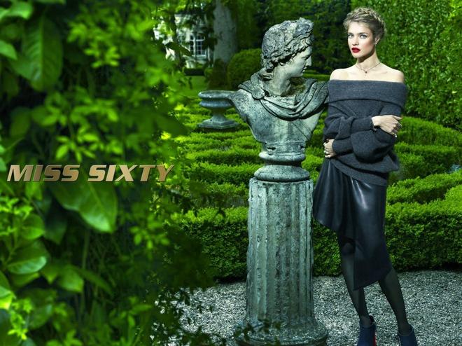 Модель Наталья Водянова вновь стала лицом Miss Sixty
