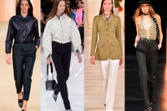 С чем носить цветные брюки летом
