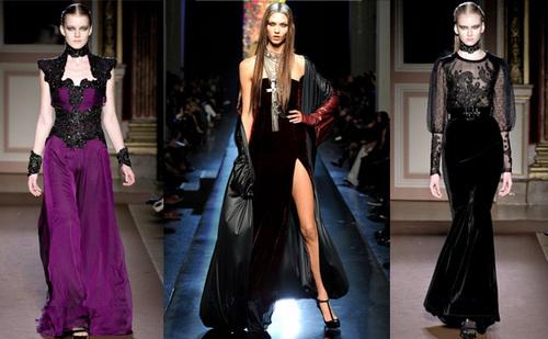 Модные тенденции осени-зимы 2015 .Готика