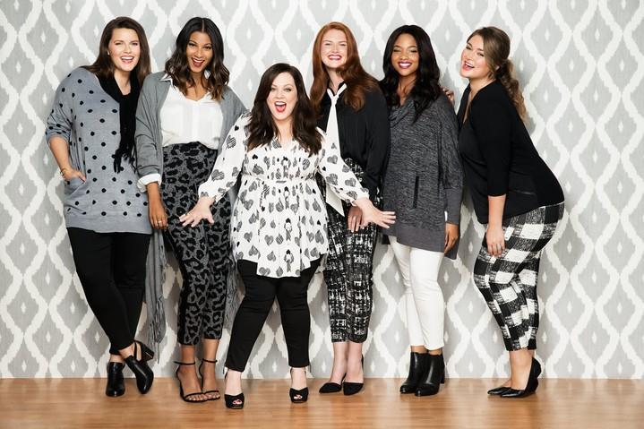 Мелисса МакКарти создала линию одежды для полных женщин