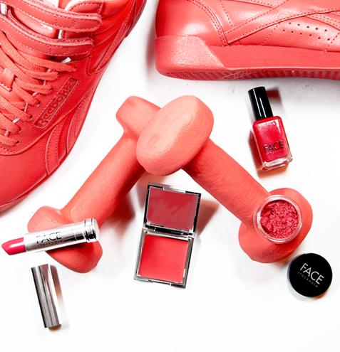 Взять от жизни все: коллаборация Reebok и косметического бренда Face stockholm