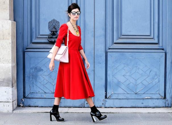 День святого Валентина: 14 красных платьев для праздничного образа
