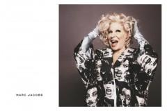 70-летня Бетт Мидлер стала лицом Marc Jacobs