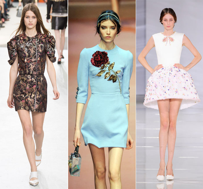 Какие платья носить этой зимой: главные тренды
