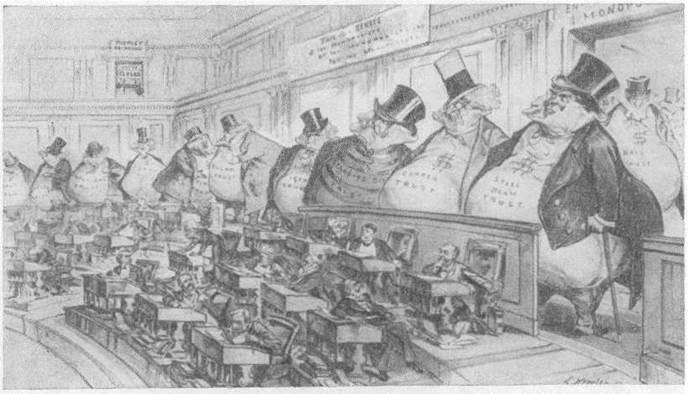 Экономическое развитие США в начале XX века