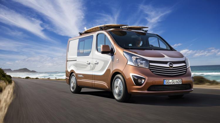 Opel Vivaro Surf Concept – таким должно быть авто путешественника!