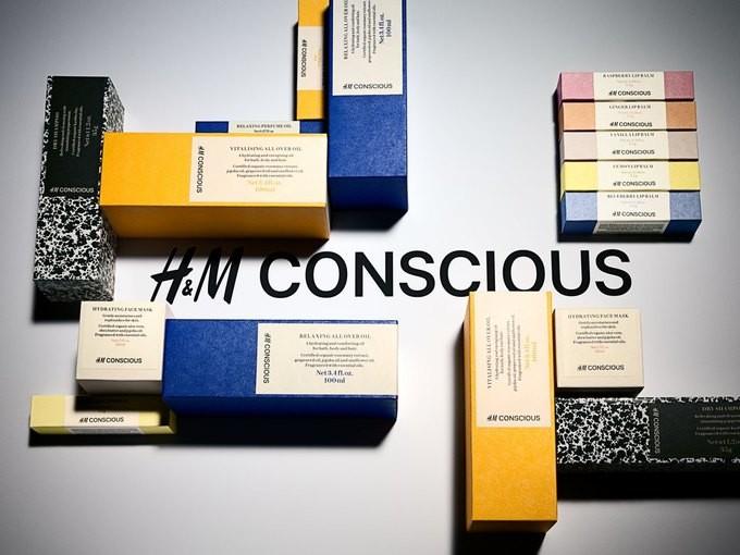 H&M запускает линию органической косметики