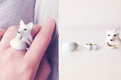 Модный аксессуар: кольца, которые превращаются в животных