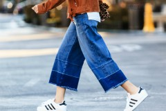 Модные тенденции 2016: джинсы-кюлоты