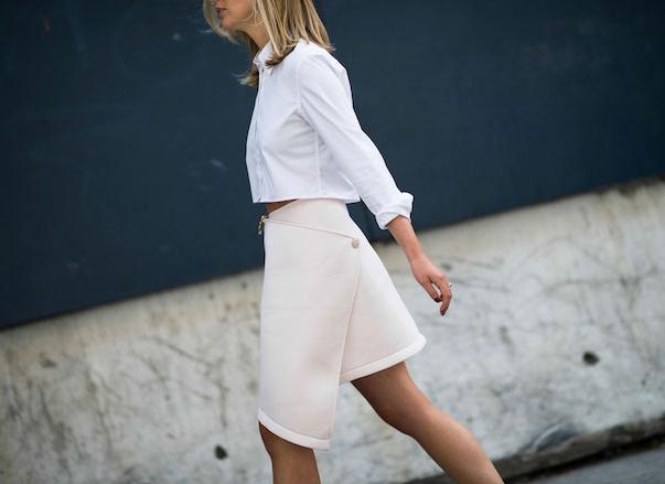 Мода весны 2016: юбки с запахом