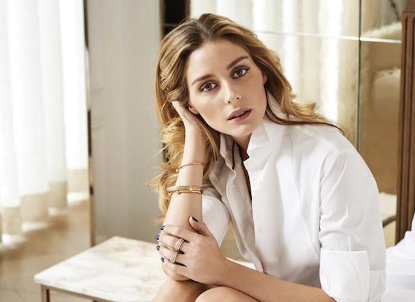 Оливия Палермо в рекламе ювелирных украшений Piaget