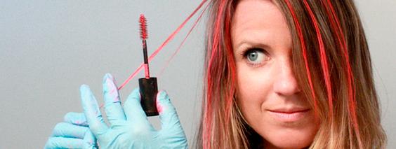 Тушь для волос: что это такое и как пользоваться