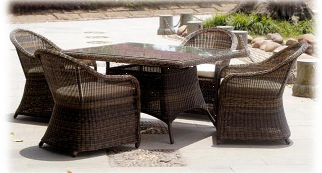 Ротанговая мебель от компании «Villa-nova»