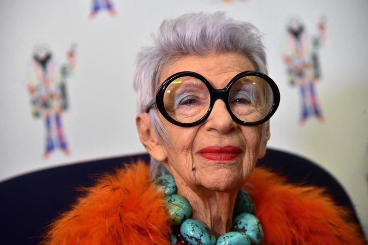 Айрис Апфель создаст коллекцию для женщин за 90