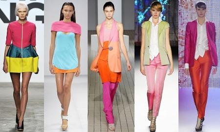 Выбор цвета в одежде
