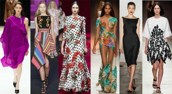 Какие платья будут в моде весной и летом 2016 года?