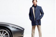 Aston Martin будет выпускать люксовую одежду для мужчин
