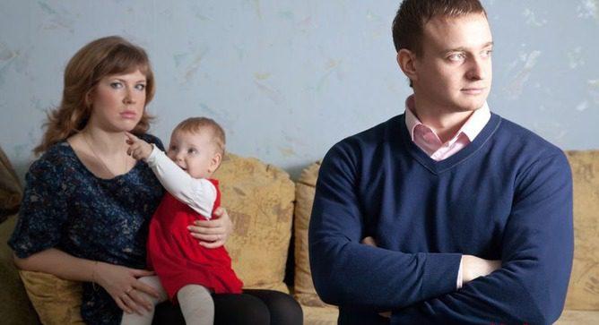 У мужа внебрачный ребенок
