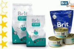 Корма Brit care и Premium для кошек