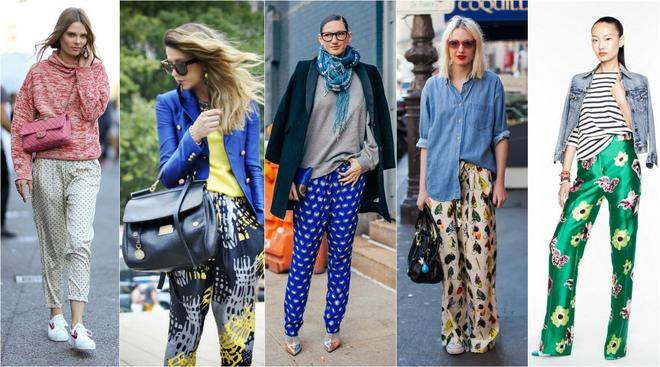 Модные женские брюки осень 2016