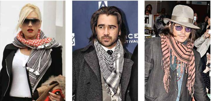 Вытеснит ли арафатка из моды традиционный шарф?