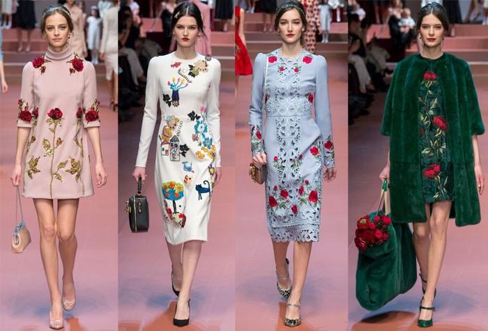 Мода на платья сезона осень-зима 2016-2017 гг