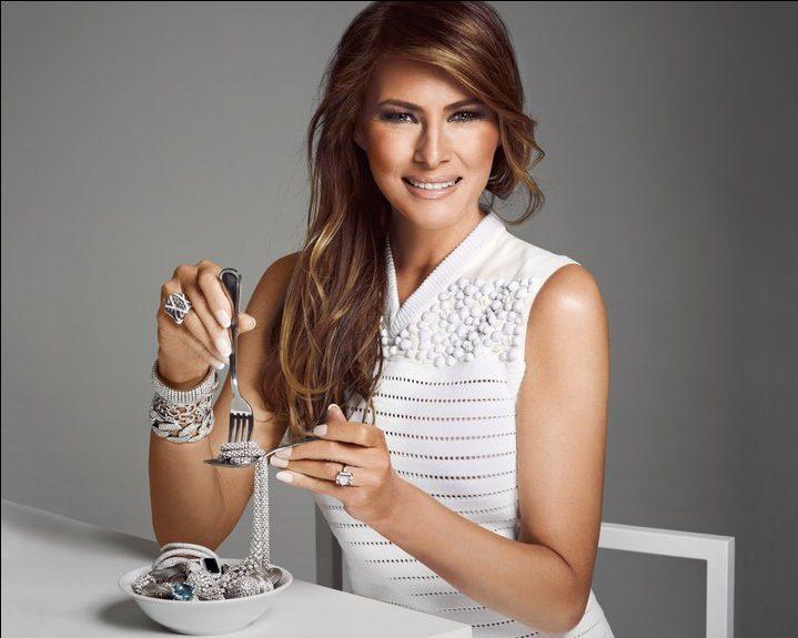 Новая первая леди США: стиль Мелании Трамп