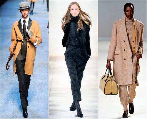 Модный тренд: андрогинный стиль