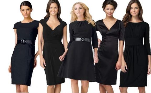 Как выбрать черное платье на каждый день
