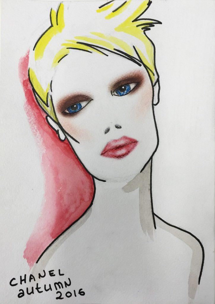 Одним цветом: монохромный макияж
