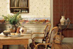 Выбор обоев для интерьера кухни: фотообои, моющиеся, бумажные и флизелиновые