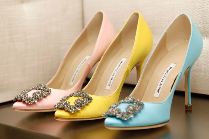 Manolo Blahnik выпустит уникальную коллекцию свадебных туфель