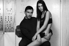 Белла Хадид снялась практически обнаженной для Nike