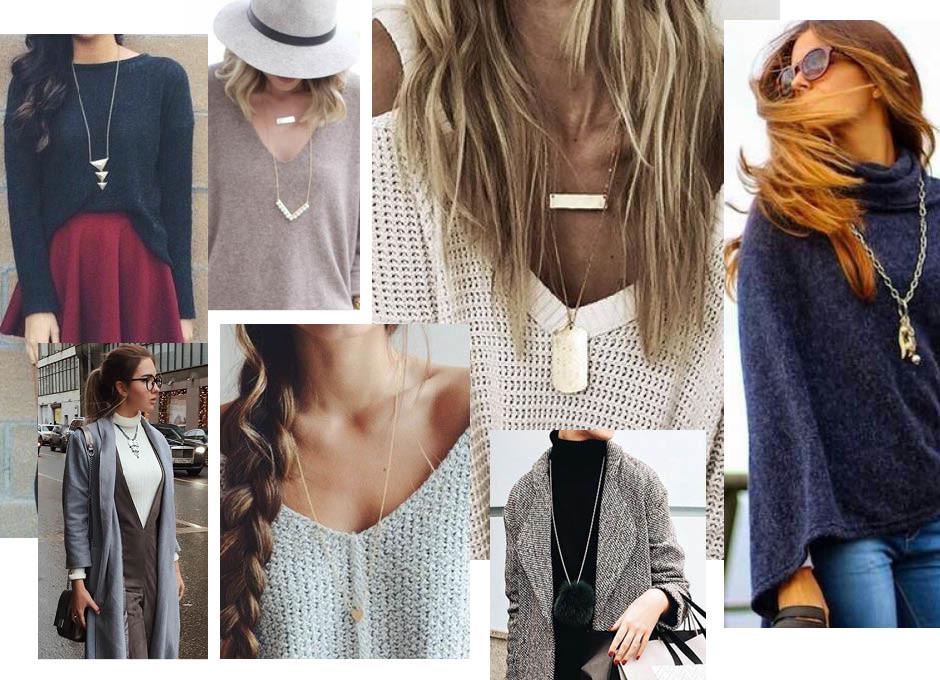 Тонко подмечено: как выбрать украшения под свитер