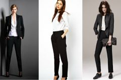 С чем сочетать классические брюки