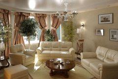 Особенности оформлении гостиной в классическом стиле