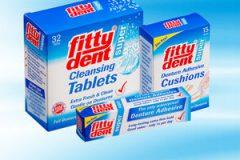 Склеивание зубов и Фиттидент для зубных протезов